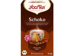 YOGI TEA BIO Čaj Čokoládový - Choco 17x2g