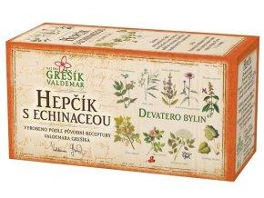 Bylinný čaj Hepčík s echinaceou porcovaný 20n.s.