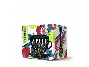 Ovocný čaj Jablko s bezinkou porcovaný 10n.s.