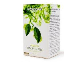 BIO zelený čaj s limetkou 25ks