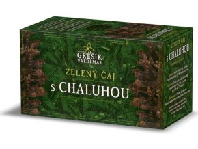 Zdravotní zelený čaj s chaluhou 20 sáčků