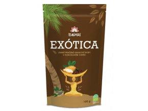 EXÓTICA - jemně pražené kakaové boby v kokosovém cukru BIO 100g