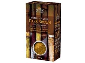 Cukr Dark Brown třtinový přírodní tmavý 300g
