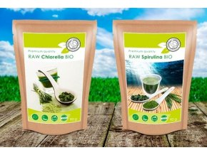 BIO RAW Spirulina tablety 500mg
