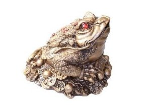 Soška - Bohatá žába podle Feng Shui