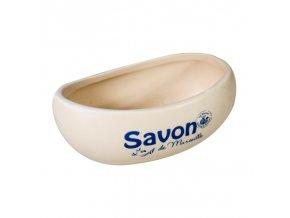 Miska na mýdlo - vanička slonovinová