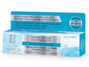 """Přírodní sibiřská zubní pasta  """"Arktická ochrana"""" 100g"""
