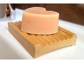 Dřevěná miska na mýdlo - prima