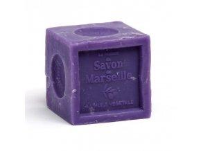 Tradiční mýdla z Marseille - levandulová kostka 300g