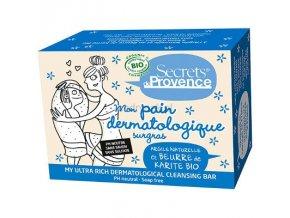 Tuhé BIO Dermatologické mýdlo Secrets de Provence 90g.