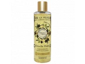 Výživný sprchový olej s olivovým olejem a extraktem z mýdla 250ml.douche huile divine olive 250ml