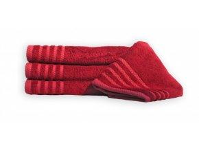 Bambusový ručník MAUR BAMBOO - ruby