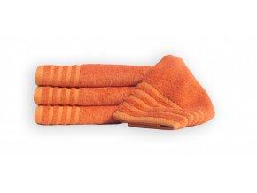 Bambusový ručník MAUR BAMBOO - orange