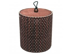 Bamboo box tuba - čokoládová barva