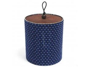 Bamboo box tuba - modrá barva