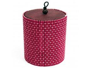 Bamboo box tuba - růžová barva