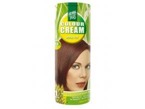 Přírodní barva krémová TMAVĚ ČERVENÁ 5.6 60ml