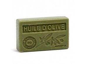 Mýdlo s bio arganovým olejem - Huile d´olive (oliva) 100g