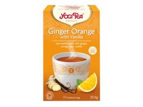 YOGITEA BIO čaj Ginger Orange with Vanilla 17x1,8g