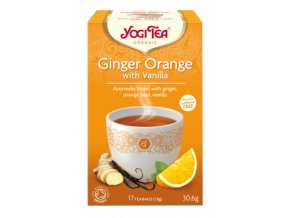 YOGITEA BIO čaj Ginger Orange with Vanilla 17x1,8g