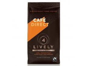 Cafedirect Lively mletá káva s tóny karamelu 227g
