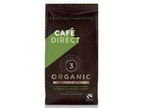 Cafedirect BIO Organic Smooth mletá káva s tóny pražených mandlí 227g