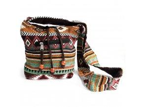 Taška přes rameno NEPAL čokoládová