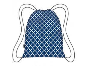 Batoh Blue Squares Eco Backpack - MAUR.cz
