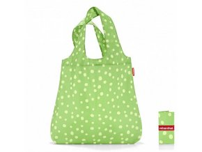 Mini maxi shopper spots green-MAUR.cz
