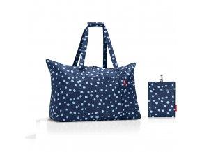 Skládací taška Mini maxi travelbag spots navy