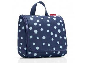 Kosmetická taška Toiletbag spots navy