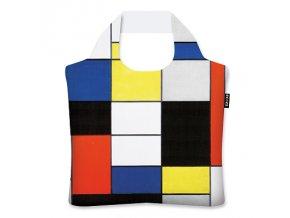 Piet Mondrian - Composition - A ekologická skládací taška