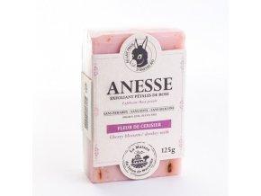 Mýdlo s oslím mlékem DUO - Fleur de cerisier/Lait d´anesse (květy třešně/oslí mléko) 125g