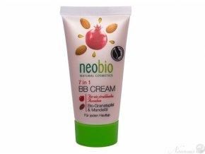 BB krém Bio Granátové jablko & Mandlový olej 7v1 30 ml