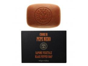 erbario toscana Pánské mýdlo - Černý pepř 140g