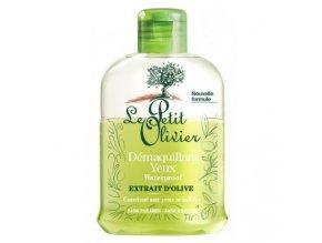 Odličovač voděodolného líčení očí - Olivový olej, 125ml