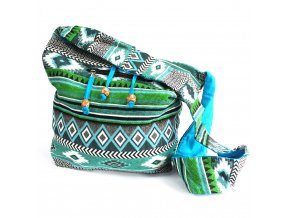 Taška přes rameno NEPAL - velká zelená