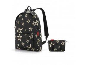 Skládací batoh Mini maxi rucksack stars