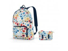 Skládací batoh Mini maxi rucksack millefleurs