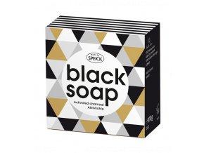 Speick Černé mýdlo s aktivním uhlíkem 100g