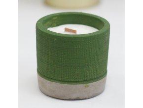 Sojová svíčka Green - Mořský mech & Bylinky