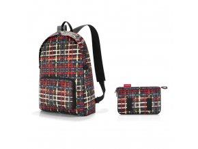 Skládací batoh Mini maxi rucksack wool