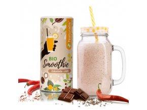 smoothie naturalis cokolada a chilli bio 180g 8594182801309