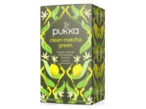 Pukka Ajurvédský čaj Clean Matcha Green  20 x 1,9g