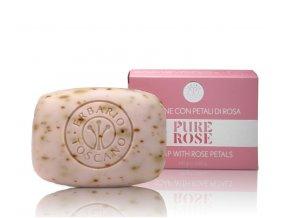 erbario toscano mydlo ruze 140g