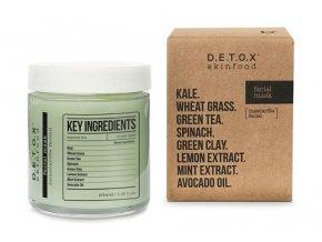 Detox Skinfood Pleťová maska, 100 ml