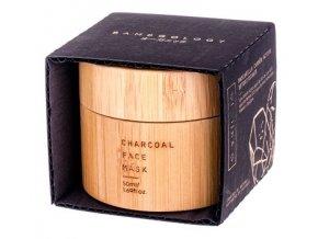 Bamboology Detoxikující pleťová maska s obsahem aktivního uhlí, 50 ml