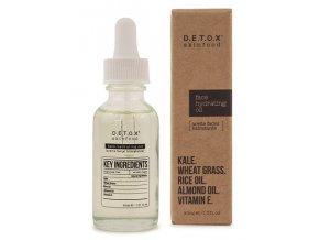 Detox Skinfood Pleťový hydratující olej, 30 ml