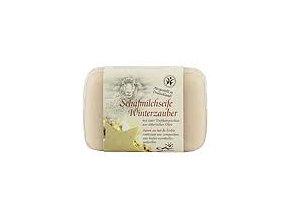 Saling Mýdlo z ovčího mléka Kouzlo Vánoc s léčivým  jílem 100g