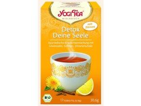 BIO Ajurvédský čaj -DETOX s citrónem 17 x 1,8g